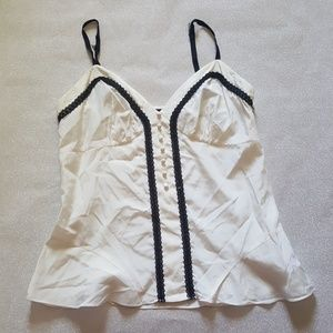 The Limited cream top size L